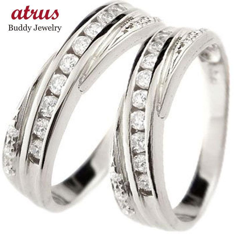 激安ブランド ペアリング 結婚指輪 マリッジリング ダイヤモンド ホワイトゴールドk18 結婚式 ダイヤ 18金 ストレート カップル 送料無料, 雛人形五月人形の岩槻本舗 c7286513