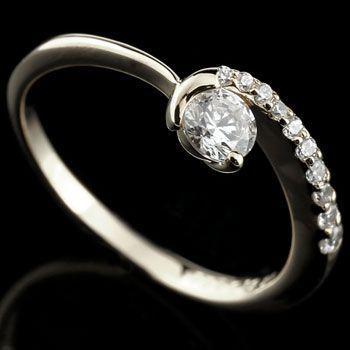 大割引 鑑定書付 ダイヤモンド リング 一粒 指輪 ホワイトゴールドk18 18金 ストレート 送料無料, トイランドクローバー 1b69e68f