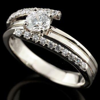 お見舞い 婚約指輪 エンゲージリング ダイヤモンド リング ホワイトゴールドk18 ダイヤ 18金 ストレート 送料無料, 【半額】 e69256ed