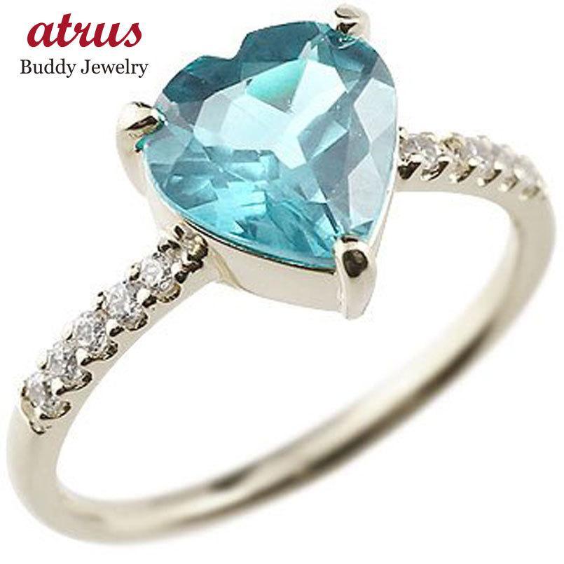 【初回限定お試し価格】 ピンキーリング ハート ハート ダイヤモンド プラチナリング ブルートパーズ ダイヤモンド 指輪 11月誕生石 ダイヤ 指輪 宝石 送料無料, リンクスダイレクト:07ce4809 --- chizeng.com