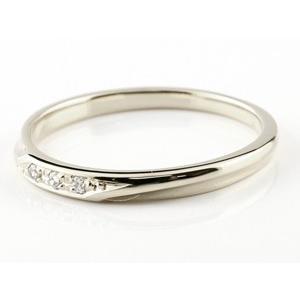 結婚指輪 プラチナ 安い ペアリング 2本セット ダイヤモンド pt900 メンズ レディース シンプル ダイヤ スイートペアリィー 男性 女性 送料無料|atrus|02
