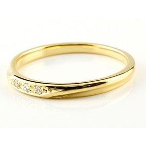 結婚指輪 ペアリング プラチナ マリッジリング 安い 2本セット シンプル イエローゴールドk18 つや消し pt900 18金 ダイヤ スイートペアリィー 送料無料 atrus 02