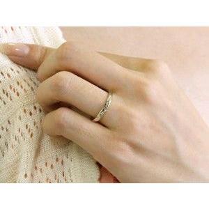 ペアリング プラチナ ダイヤモンド 結婚指輪 マリッジリング シンプル つや消し pt900 ダイヤ ストレート スイートペアリィー カップル 送料無料|atrus|03