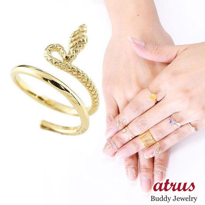 独特の上品 メンズ ファランジリング ヘビ 蛇 ヘビ ミディリング 蛇 関節リング 指輪 イエローゴールドK18 地金リング 地金リング ピンキーリング 18金 ネイルリング フリーサイズ, エッフェル:a80b150f --- airmodconsu.dominiotemporario.com