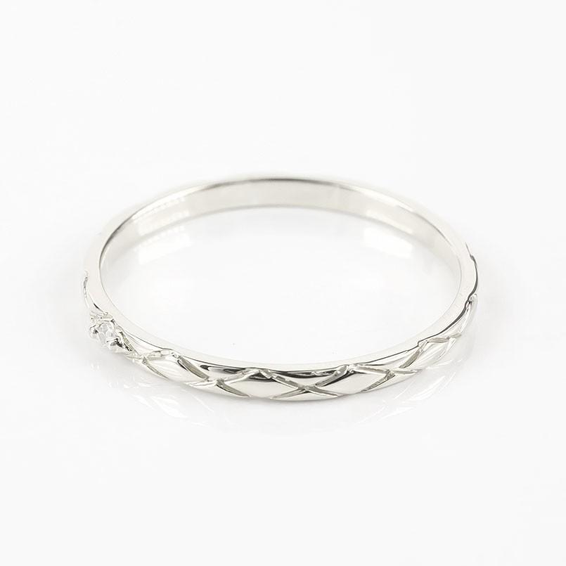 結婚指輪 プラチナ 安い ペアリング 2本セット ダイヤモンド一粒 pt900 指輪 ペア マリッジリング リング 華奢 アンティーク 男性 女性 最短納期 送料無料|atrus|02