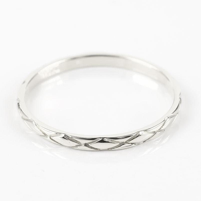 結婚指輪 プラチナ 安い ペアリング 2本セット ダイヤモンド一粒 pt900 指輪 ペア マリッジリング リング 華奢 アンティーク 男性 女性 最短納期 送料無料|atrus|03