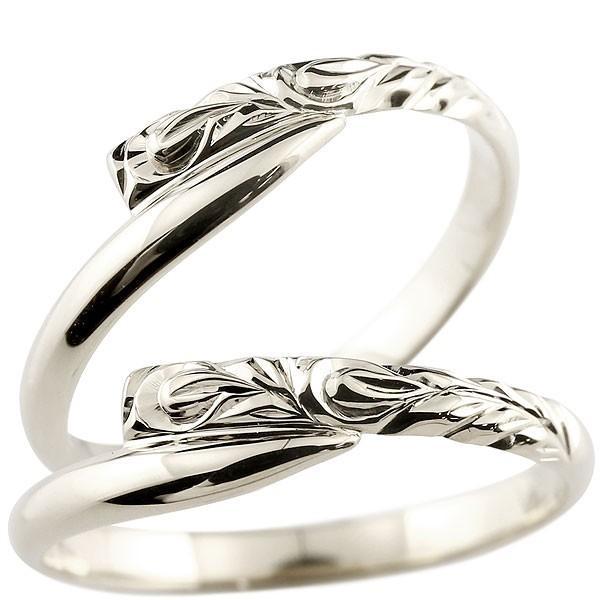ハワイアンジュエリー ペア シルバー ペアリング 安い 結婚指輪 マリッジリング sv ハワイアンリング スパイラル 地金 sv カップル  プレゼント 女性 送料無料 atrus