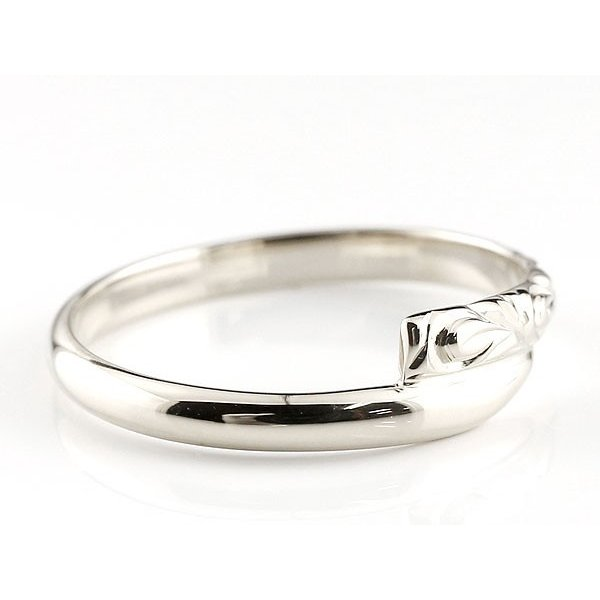 ハワイアンジュエリー ペア シルバー ペアリング 安い 結婚指輪 マリッジリング sv ハワイアンリング スパイラル 地金 sv カップル  プレゼント 女性 送料無料 atrus 02