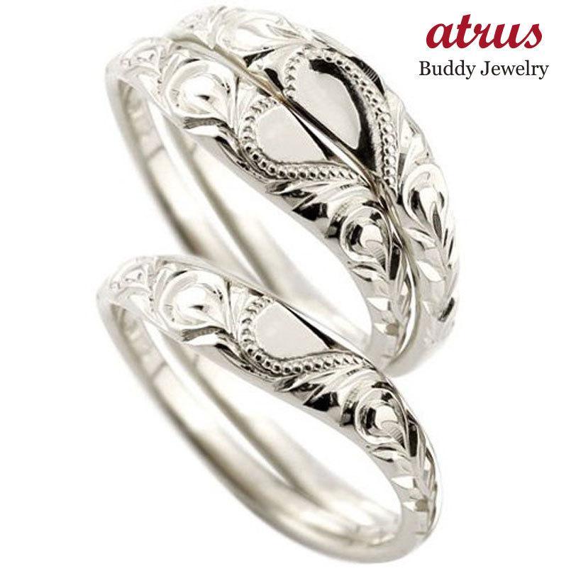 都内で ハワイアンジュエリー プラチナ ペアリング 人気 結婚指輪 マリッジリング ハート ミル打ち 地金リング pt900 カップル トラスリング ストレート 3本セット, 【残りわずか】 4ae6438f