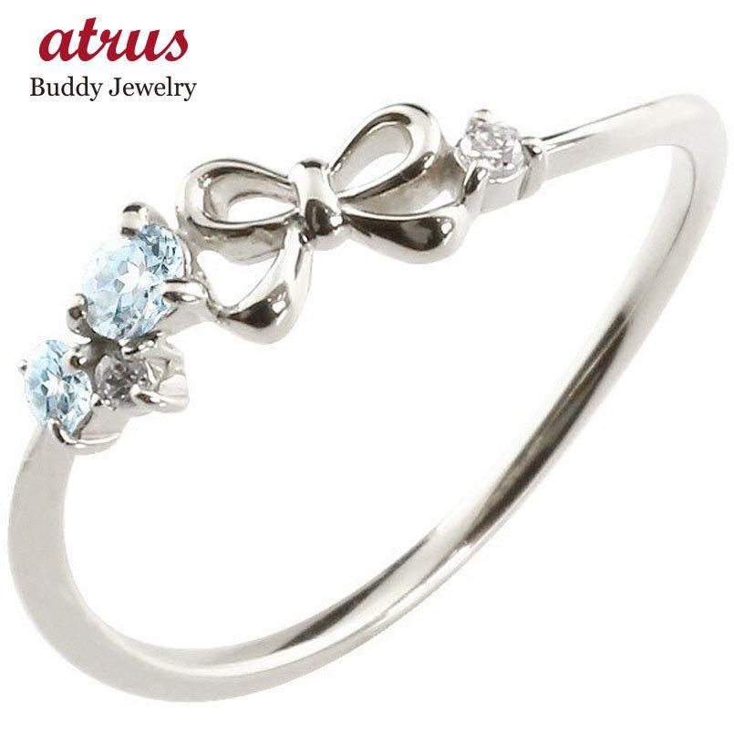 超人気新品 リボン プラチナリング ブルートパーズ ダイヤモンド ピンキーリング 指輪 華奢リング 重ね付け pt900 レディース 11月誕生石 宝石 送料無料, ペットビジョン e1da5b02