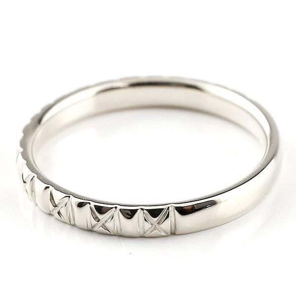 結婚指輪 プラチナ 安い ペアリング ダイヤモンド マリッジリング リング pt900 アンティーク 結婚式 ダイヤ ストレートダイヤリング 送料無料|atrus|04