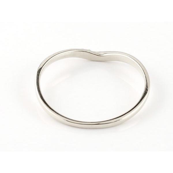 結婚指輪 安い ペアリング マリッジリング ダイヤモンド イエローゴールドk18 プラチナ V字 つや消し 一粒 18金 スイートペアリィー インフィニティ 最短納期 atrus 02