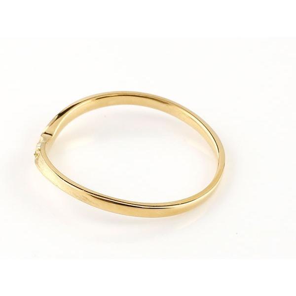 結婚指輪 安い ペアリング マリッジリング ダイヤモンド イエローゴールドk18 プラチナ V字 つや消し 一粒 18金 スイートペアリィー インフィニティ 最短納期 atrus 03