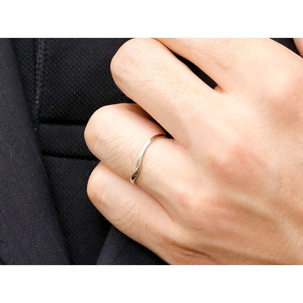 結婚指輪 安い ペアリング マリッジリング ダイヤモンド イエローゴールドk18 プラチナ V字 つや消し 一粒 18金 スイートペアリィー インフィニティ 最短納期 atrus 06