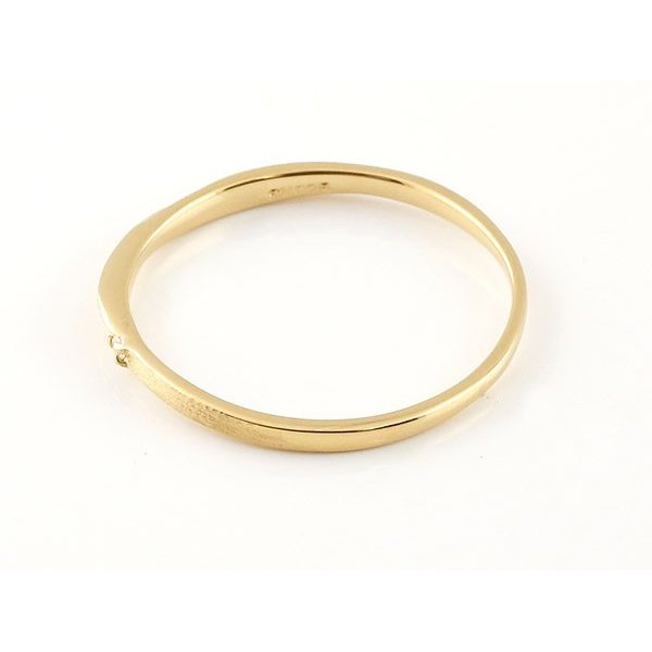 結婚指輪 安い スイートペアリィー インフィニティ ペアリング マリッジリング ダイヤモンド イエローゴールドk18 プラチナ900 S字 つや消し 18金 最短納期|atrus|03