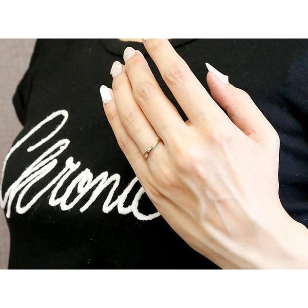 ペアリング 結婚指輪 マリッジリング ハート ピンクゴールドk18 18金 シンプル つや消し スターダスト加工 ストレート スイートペアリィー カップル 最短納期 atrus 04
