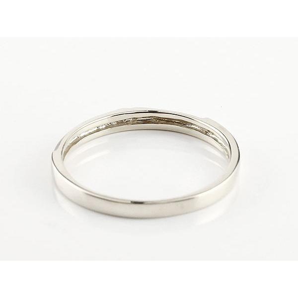 ペアリング 結婚指輪 マリッジリング クロス 十字架 ホワイトゴールドk10 10金 シンプル つや消し ストレート スイートペアリィー カップル 最短納期 送料無料|atrus|03