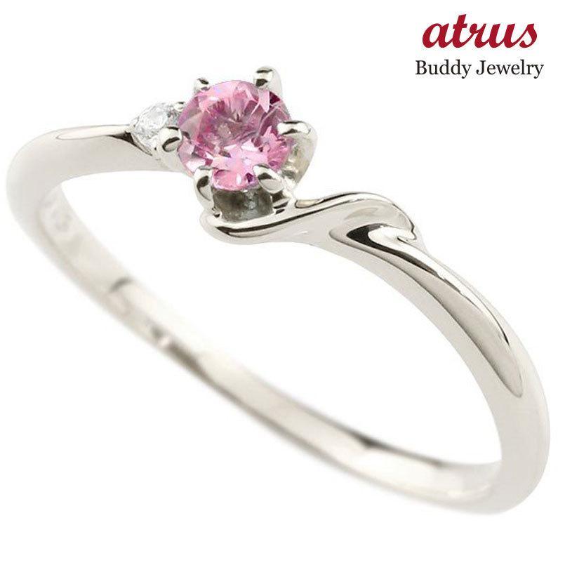 超ポイントアップ祭 指輪 イニシャル ネーム S ピンキーリング ピンクサファイア ダイヤモンド 華奢リング プラチナアルファベット レディース 9月誕生石 人気 送料無料, リリパ 住まいのリフォーム f02d5cea