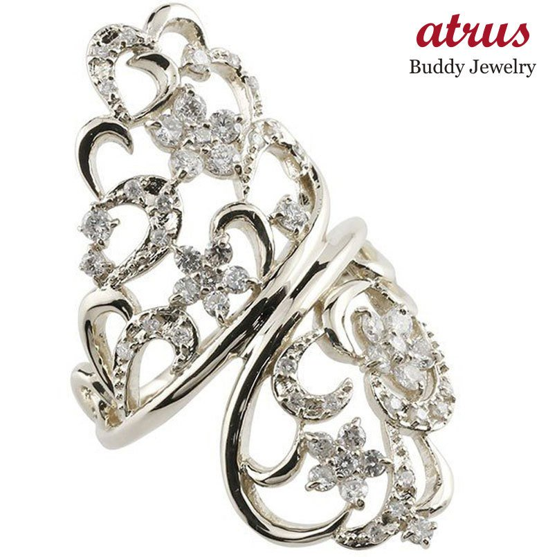 【感謝価格】 ピンキーリング フラワー プラチナ ダイヤモンド リング 透かし 指輪 エンゲージリング pt900 ダイヤ 送料無料, 全日本送料無料 9259519c