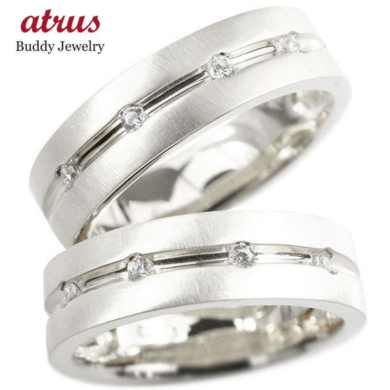 アンマーショップ ペアリング ホワイトゴールドk10 キュービックジルコニア 指輪 幅広 ホーニング加工 つや消し 10金 結婚指輪 マリッジリング リング カップル 送料無料, CASACASA カーサカーサ 913a3c26