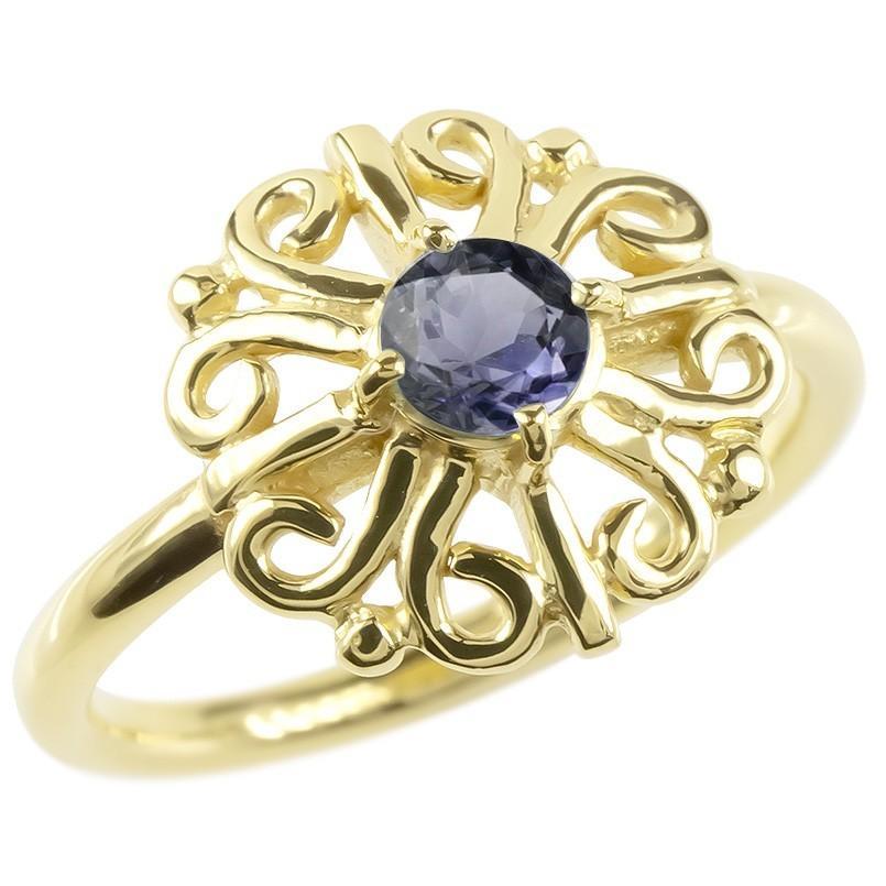 特売 18金 リング 透かし ゴールド アイオライト レディース 指輪 イエローゴールドk18 指輪 アラベスク 婚約指輪 安い エンゲージリング ピンキーリング 透かし アラベスク アンティーク 花, ハンコファクトリー:3fa22a14 --- airmodconsu.dominiotemporario.com
