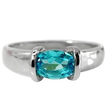 ランキング第1位 ピンキーリング トパーズ ブルートパーズ リング プラチナ 指輪 11月誕生石 ストレート 宝石 送料無料, 大口市 6995479f