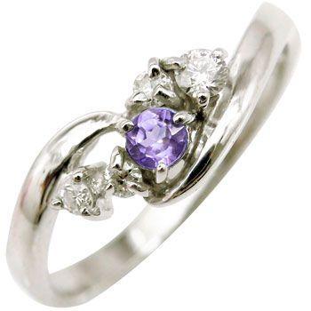 全国総量無料で ピンキーリング ダイヤモンドリング アメジスト 指輪 プラチナリング 指輪 2月誕生石 ダイヤ ストレート アメジスト ストレート 送料無料, イツキムラ:27dd7772 --- airmodconsu.dominiotemporario.com