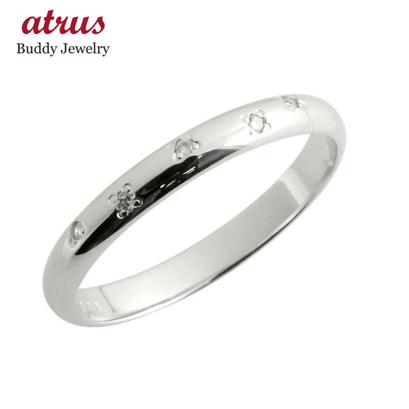 特別セーフ ピンキーリング ダイヤモンドリング ホワイトゴールドk18リング 指輪 18金 ダイヤ 4月誕生石 ストレート 2.3 宝石 送料無料, 【お気にいる】 695930b2