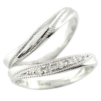 品質のいい ダイヤ ダイヤモンド ブルームーンストーン 結婚指輪 レディース ペアリング マリッジリング ホワイトゴールドk18 ペアリング メンズ ミル打ち 結婚式 18金 カップル メンズ レディース, 天神名物 卸のまんま:f185abd9 --- lighthousesounds.com