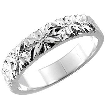 【オンライン限定商品】 指輪 レディース リング 桜 ホワイトゴールドk18 18金, mirco-shop aae1493b