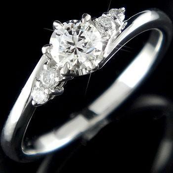 新品即決 婚約指輪 レディース 鑑定書付き VS1クラス ホワイトゴールドK18 ダイヤモンド ダイヤ 18金, BASE UNION 43340589