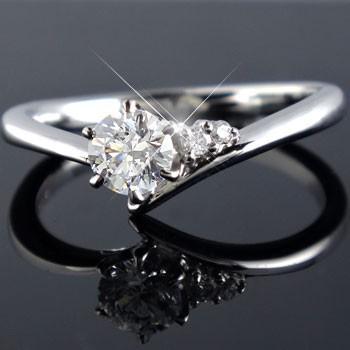 【新品】 婚約指輪 レディース 鑑定書付き 0.33ct ダイヤモンド ダイヤ VVS1 ホワイトゴールドk18 ダイヤ 18金, ナカセンマチ 51eba910