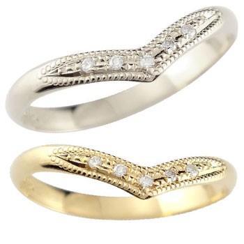 日本未入荷 結婚指輪 レディース 18金 結婚指輪 指輪 ダイヤ ダイヤモンド ホワイトゴールドk18 イエローゴールドk18 ダイヤ 18金, JOYPOWER:4d80e29b --- airmodconsu.dominiotemporario.com