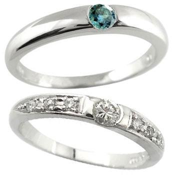 魅力的な価格 結婚指輪 レディース 指輪 ダイヤモンド ブルーダイヤモンド ホワイトゴールドk18 18金 ダイヤ, 【在庫処分大特価!!】 eef2f247
