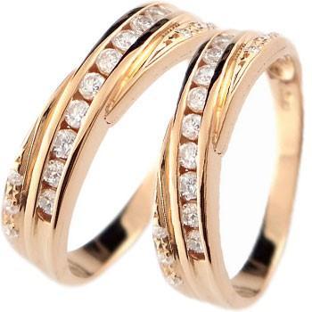 【おまけ付】 結婚指輪 メンズ ダイヤモンド ピンクゴールドk18 18金 ダイヤ, 人気定番 9222bbb8