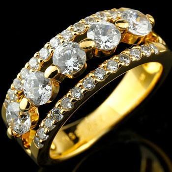 【正規逆輸入品】 婚約指輪 レディース 鑑定書付き ダイヤモンド イエローゴールドk18 ダイヤ 18金, スーパーブッシュ f6064acf