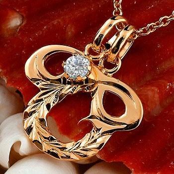 人気ブランドの ネックレス メンズ イニシャル O ダイヤモンド ピンクゴールドk18 18金 ダイヤ, AQUA NAIL/アクアネイル 7ebcb723