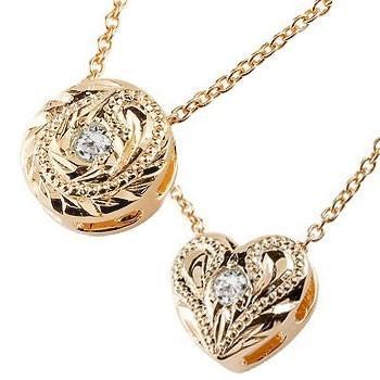 全日本送料無料 ネックレス メンズ ダイヤモンド ピンクゴールドk18 プチ チェーン 18金, 事務蔵 aa57cc4d