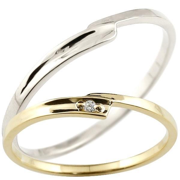 注目のブランド 結婚指輪 レディース 指輪 ダイヤモンド イエローゴールドk10 ホワイトゴールドk10, Fabric House Iseki 38739835
