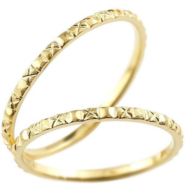 完成品 結婚指輪 レディース 指輪 イエローゴールドk10, Un Branche 8ba777a7