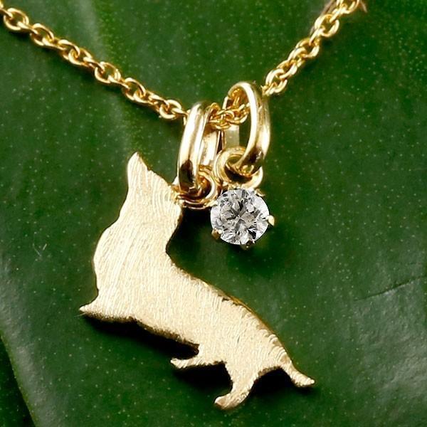 【祝開店!大放出セール開催中】 ネックレス 犬 メンズ 犬 ダイヤモンド ダックス ネックレス ダックスフンド イエローゴールドk18 18金 チェーン 犬 チェーン, Thumbs-up:cc62c8a2 --- airmodconsu.dominiotemporario.com