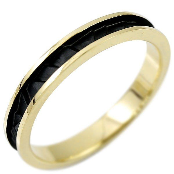 当店在庫してます! リング 18金 メンズ 指輪 指輪 イエローゴールドk18 18金 リング ブラックメッキ, WEB SAILING:21386cd0 --- airmodconsu.dominiotemporario.com