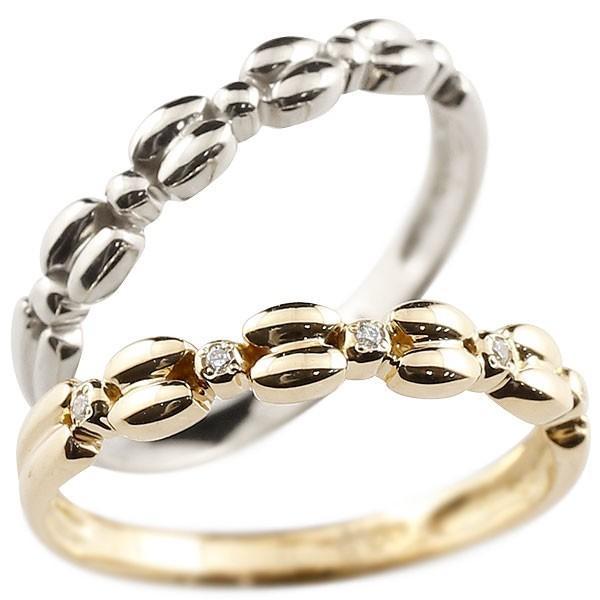 スペシャルオファ 結婚指輪 レディース 指輪 プラチナ イエローゴールドk18 ダイヤモンド, BARCLAY WEB STORE 9f71f93c