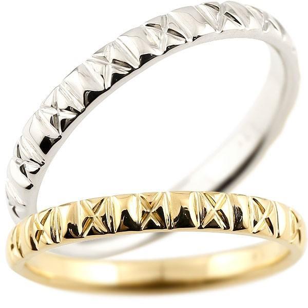 高品質の激安 結婚指輪 レディース 指輪 イエローゴールドk18 プラチナ900 18金, PORTY66-着ぐるみ-雑貨-コスメ- 6807a806