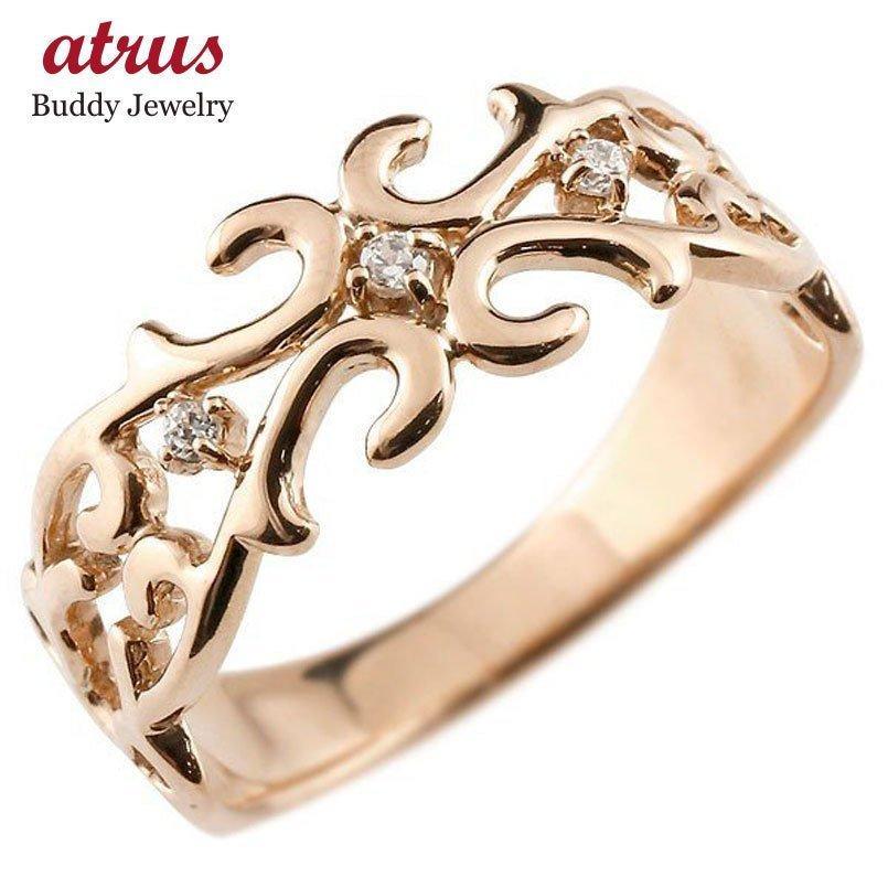 最低価格の 指輪 レディース リング ダイヤ ダイヤモンド ピンクゴールドk18 ダイヤ リング レディース 18金, 京都 森乃家:5caf9198 --- airmodconsu.dominiotemporario.com