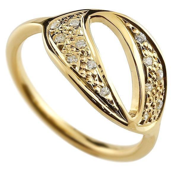 特別価格 リング メンズ 指輪 メンズ ダイヤモンド ダイヤモンド 0 イエローゴールドk10 リング 数字, olive&popeye:6a02b47b --- bit4mation.de