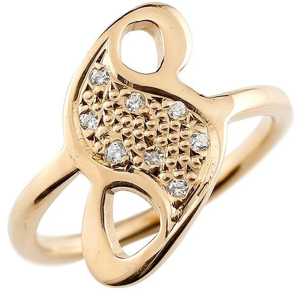 大切な リング ダイヤモンド 数字 メンズ 指輪 ダイヤモンド リング 8 ピンクゴールドk10 数字, JEMA(ギフトと模型材料)shop:b1bcb268 --- bit4mation.de