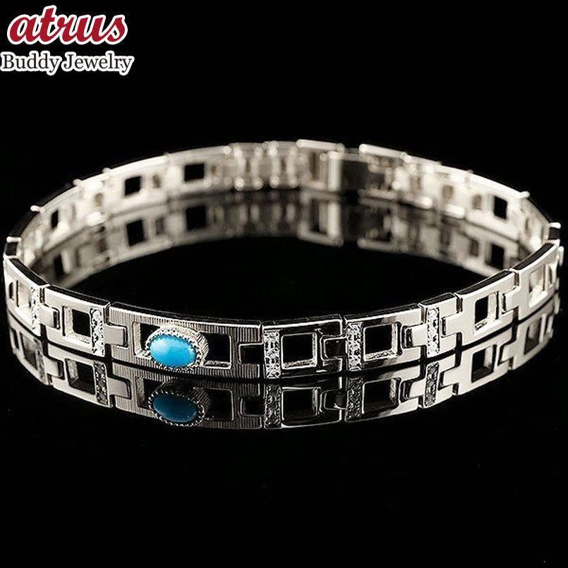 超特価SALE開催! ブレスレット メンズ トルコ ターコイズ ダイヤモンド, 茨城県 b711ba92