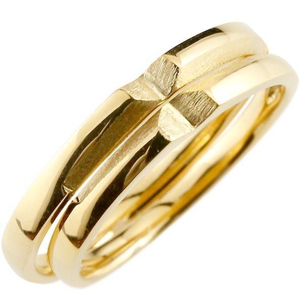 2019特集 結婚指輪 18金 メンズ メンズ 結婚指輪 クロス イエローゴールドk18 18金, セレブbyエンデバー:d829b505 --- airmodconsu.dominiotemporario.com