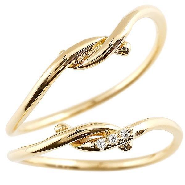 【在庫処分大特価!!】 結婚指輪 メンズ メンズ ダイヤモンド イエローゴールドk10 結婚指輪 ダイヤモンド, 緑区:4c4aeaf5 --- airmodconsu.dominiotemporario.com